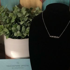 Touchstone Crystal by Swarovski Pipette Necklace
